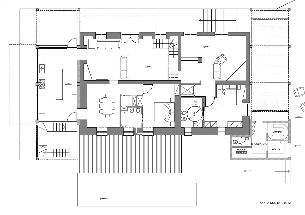 Orte vt ristrutturazione e ampliamento di un casale for Progetto di ristrutturazione